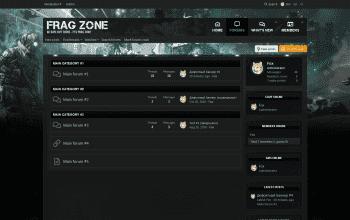 XenForo Frag Zone 2.2.2.0 Изображение: 1