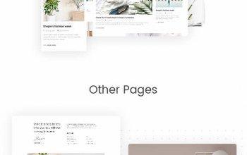Amely v2.3.1 – Fashion Shop WordPress Theme for WooCommerce Изображение: 6