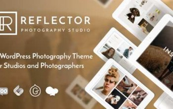 Reflector v1.1.1 – Photography Theme Изображение: 1