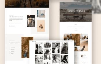Reflector v1.1.1 – Photography Theme Изображение: 3