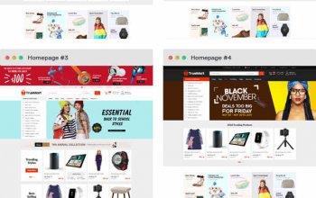 TrueMart - Mega Shop OpenCart Theme (Included Color Swatches) Изображение: 2