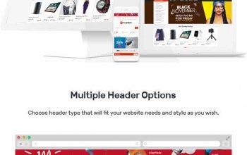 TrueMart - Mega Shop OpenCart Theme (Included Color Swatches) Изображение: 6