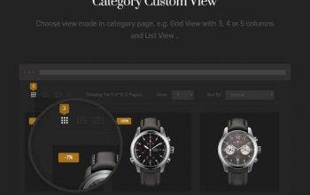 Mirora - Watch & Luxury Store Opencart Theme Изображение: 5