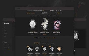 Mirora - Watch & Luxury Store Opencart Theme Изображение: 2