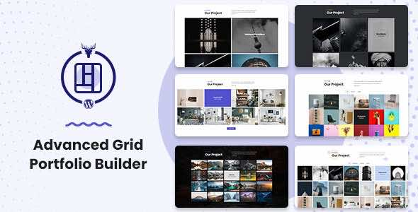WP Advanced Grid Portfolio Builder v1.0.2 Изображение: 1
