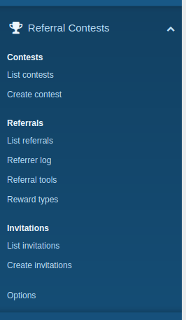 Referral Contests 2 by Siropu 2.2.9 Изображение: 1